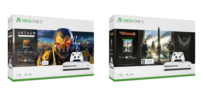 Xbox One S Anthem Division 2 Bundle