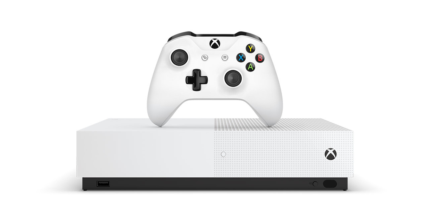 Xbox One with all digital