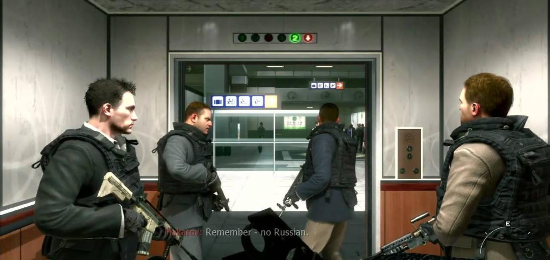 Call of Duty: Modern Warfare 2: No Russian