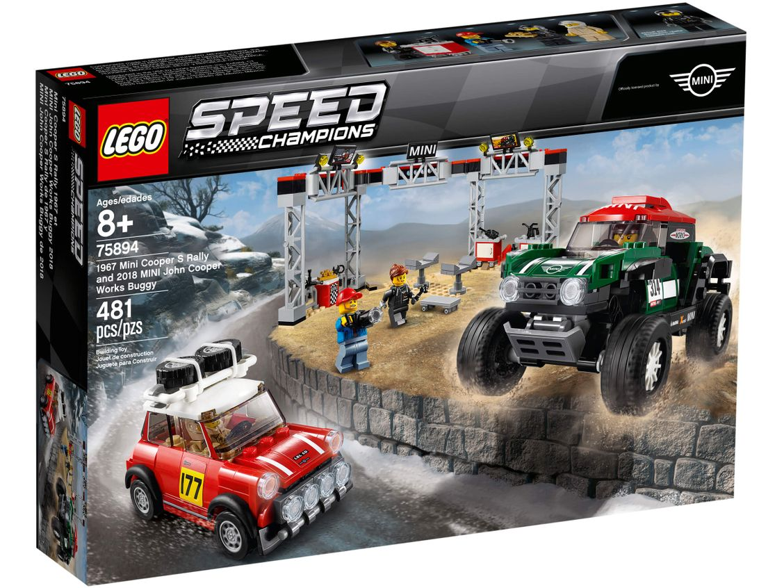 LEGO Speed Champions Mini Cooper S Rally