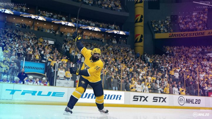 NHL 20 Signature Shots
