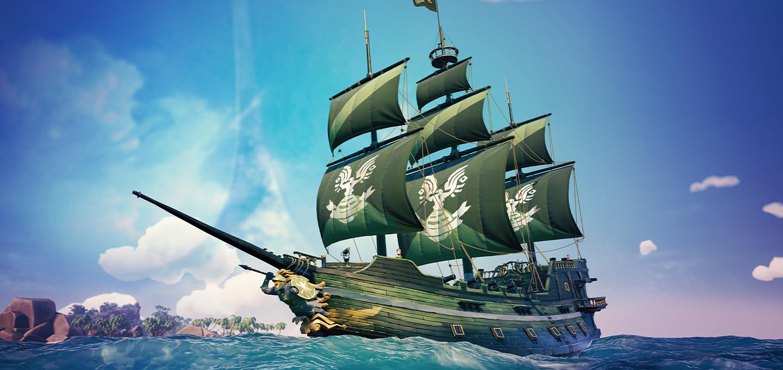Sea of Thieves Spartan Ship Set