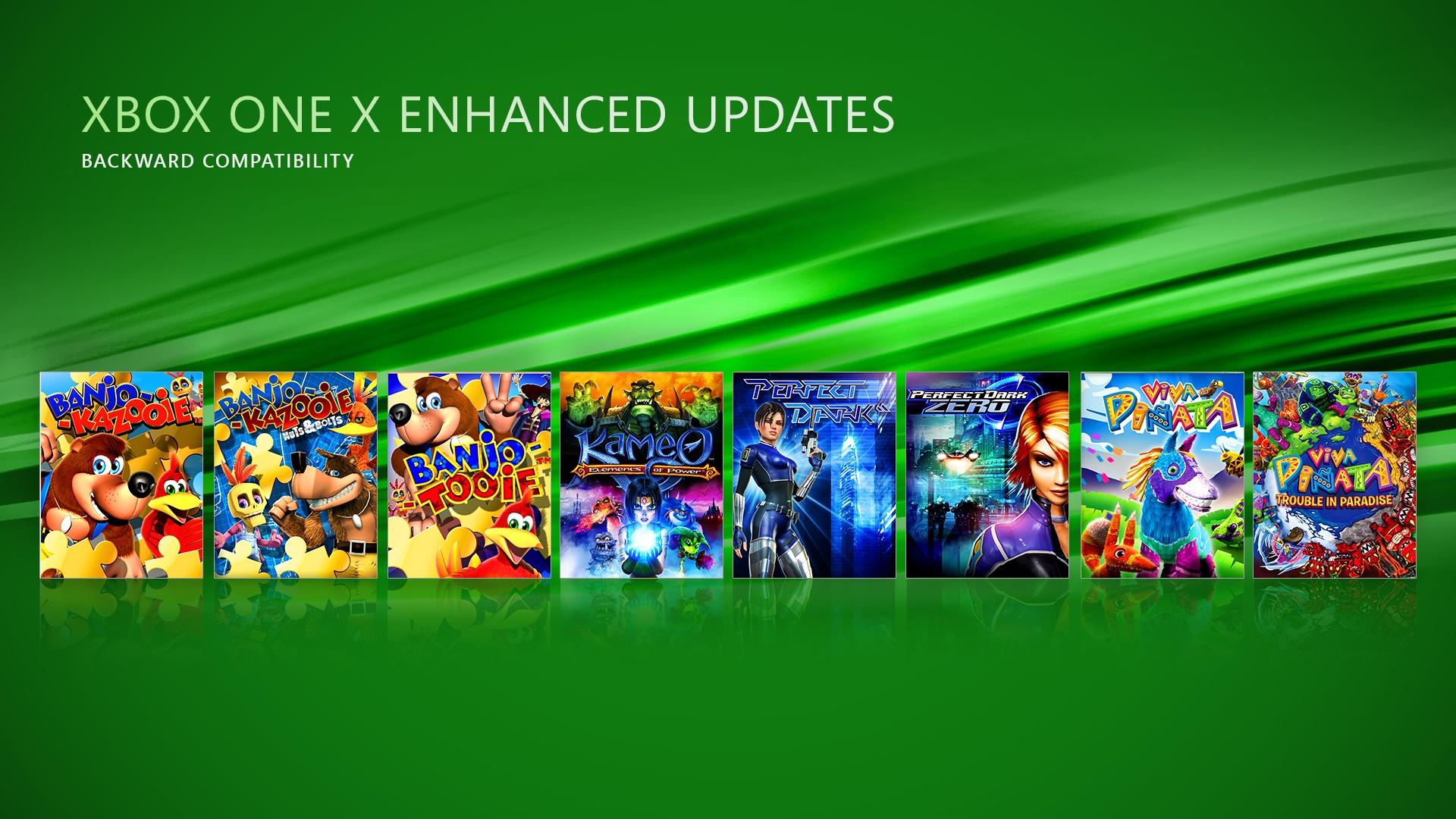 Xbox 360 vylepšená spätná kompatibilita (Xbox One X Enhanced)