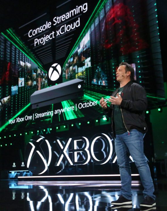 Phil Spencer Project xCloud Console Streaming