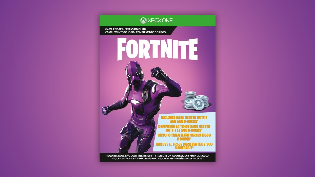 Fortnite Legendary Dark Vertex Add-on