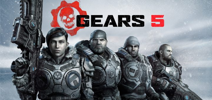 Gears 5 Horizontal Key Art