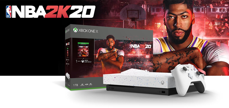 Xbox One X Hyperspace Edition NBA 2K20 Bundle