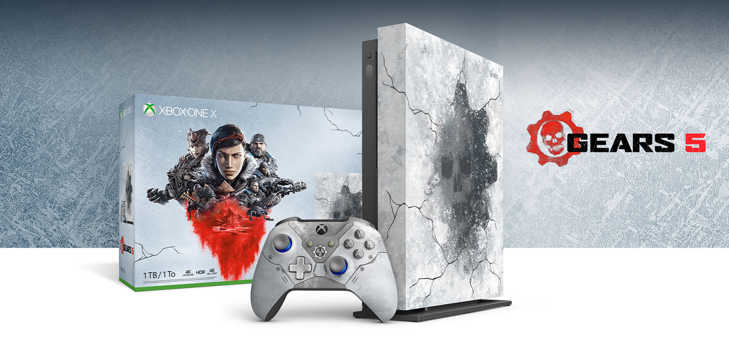 Xbox One X (Gears 5 Limited Edition)