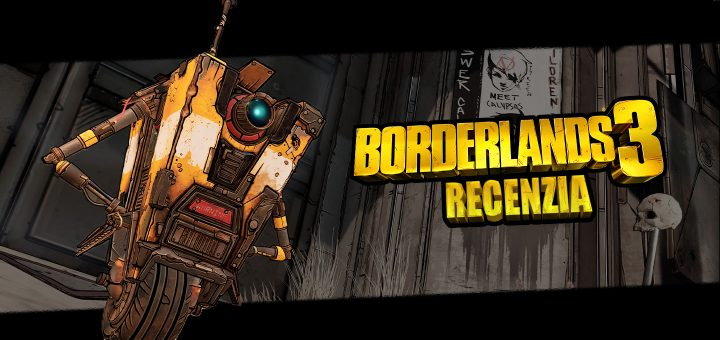 Borderlands 3 Recenzia