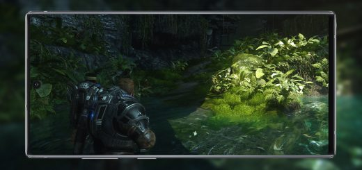 Galaxy Note 10+ Gears 5 OneCast