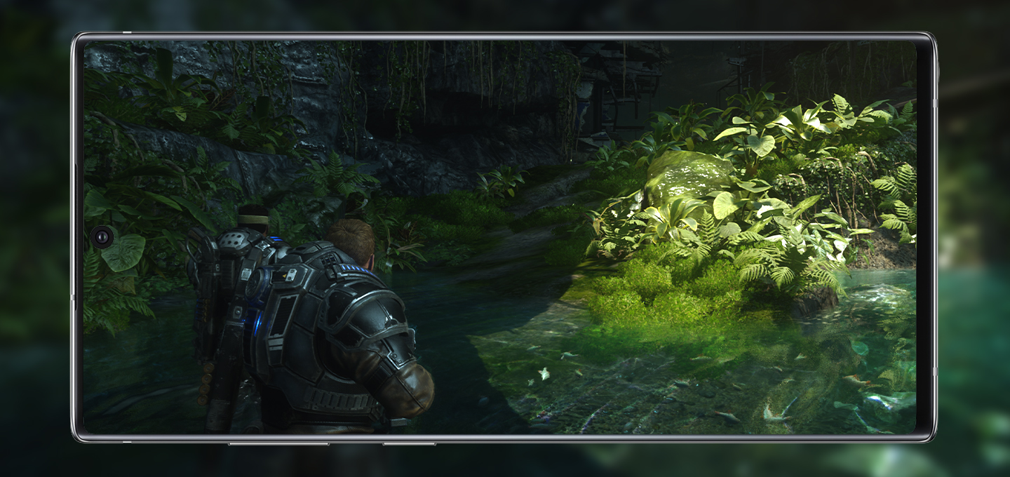Galaxy Note10+ Gears 5 OneCast