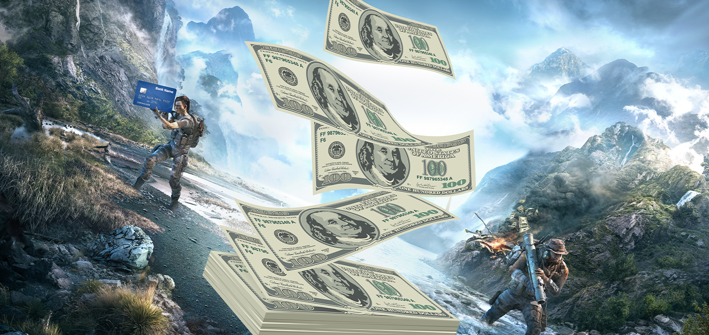 Ghost Recon Breakpoint Monetization