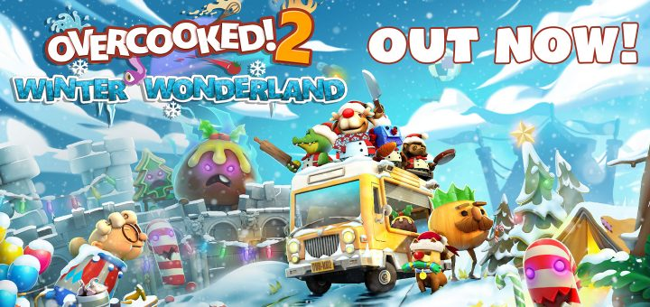 Overcooked 2 Winter Wonderland Update