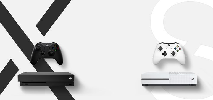 Xbox One S Xbox One X Comparison