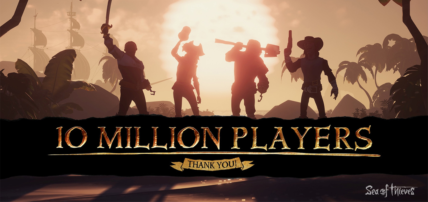 Sea of Thieves 10 Million Players Milestone