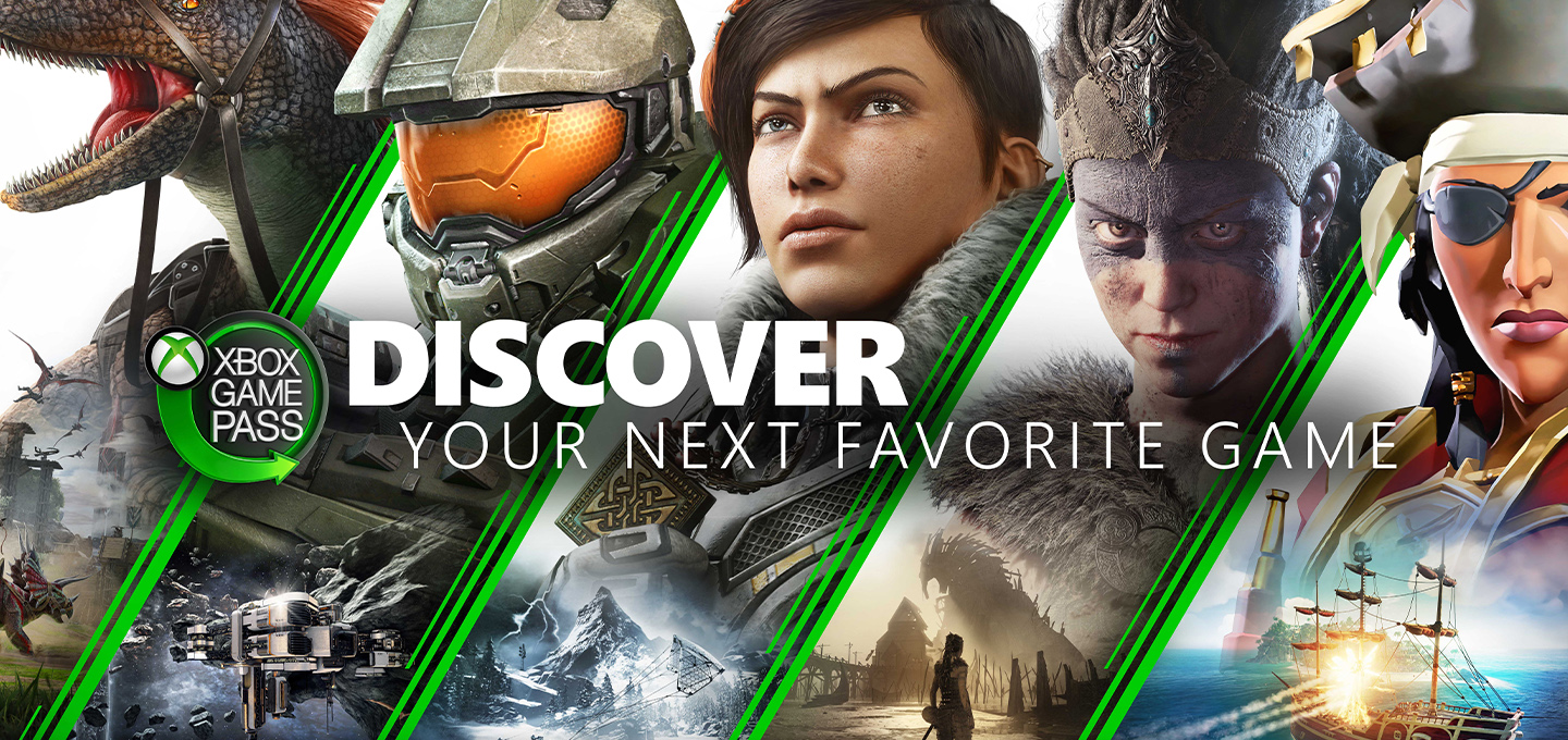 Xbox Game Pass Discover