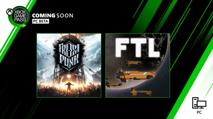 Xbox Game Pass PC Január 2020 Frostpunk a FTL: Faster Than Light