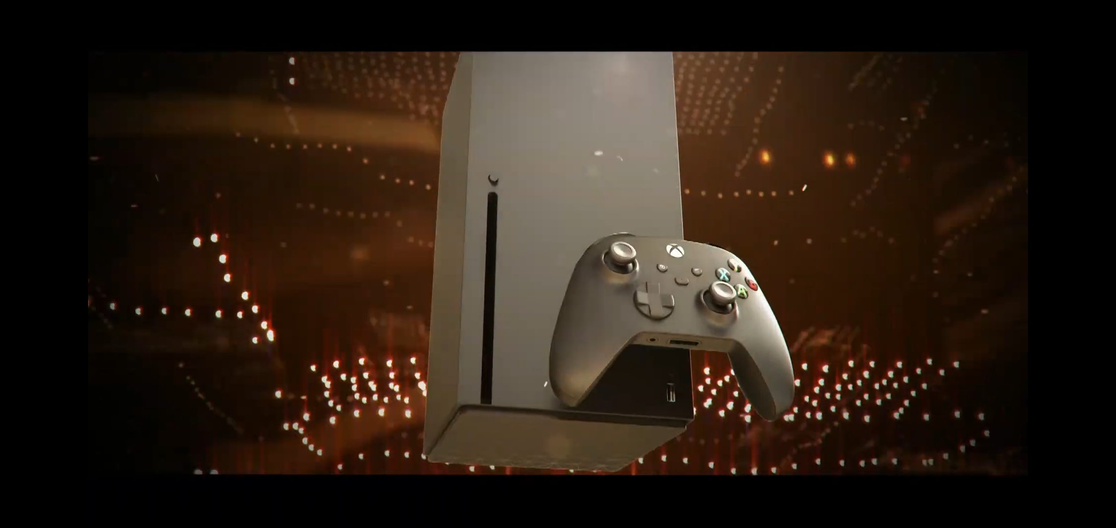 Xbox Series X front panel AMD CES 2020