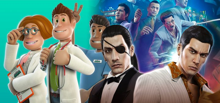 Game Pass Two Point Hospital Yakuza 0