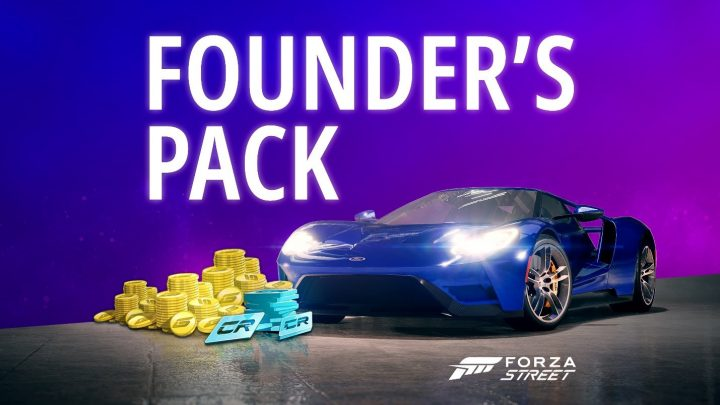 Forza Street Founders Pack