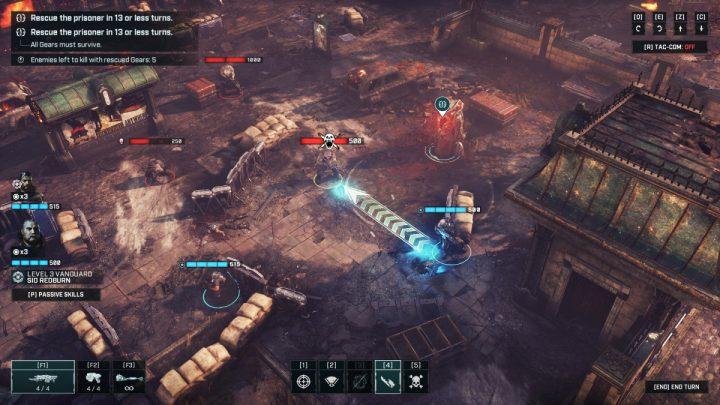 Gears Tactics Rough Justice