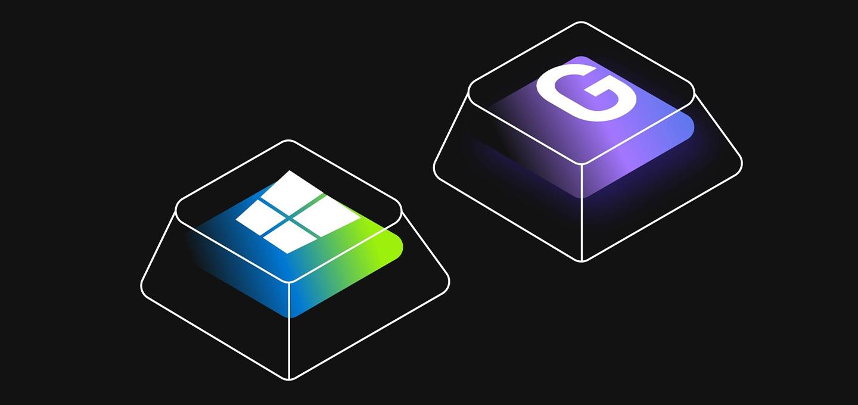 Win+G Game Bar