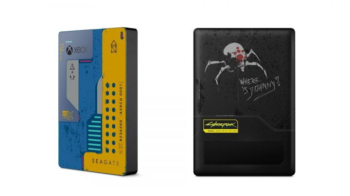 Seagate Game Drive for Xbox Cyberpunk 2077 Limited Edition
