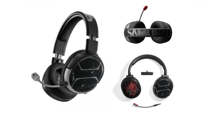"SteelSeries Arctis 1 Wireless Headset ""Johnny Silverhand Edition"""