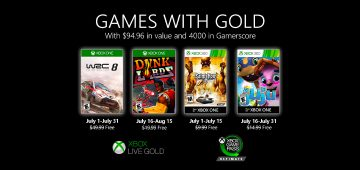 Games with Gold Jul 2020