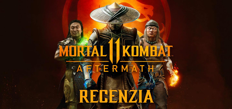 Mortal Kombat 11 Aftermath Recenzia