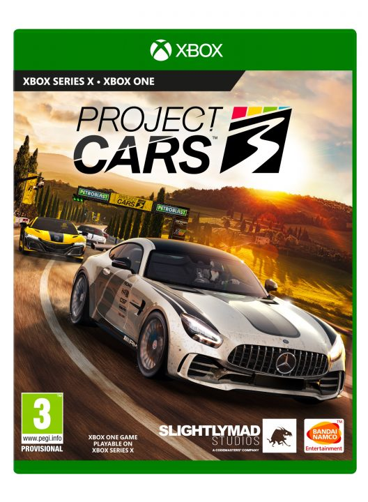 Project CARS 3 Boxart
