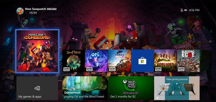 Xbox One June 2020 Update