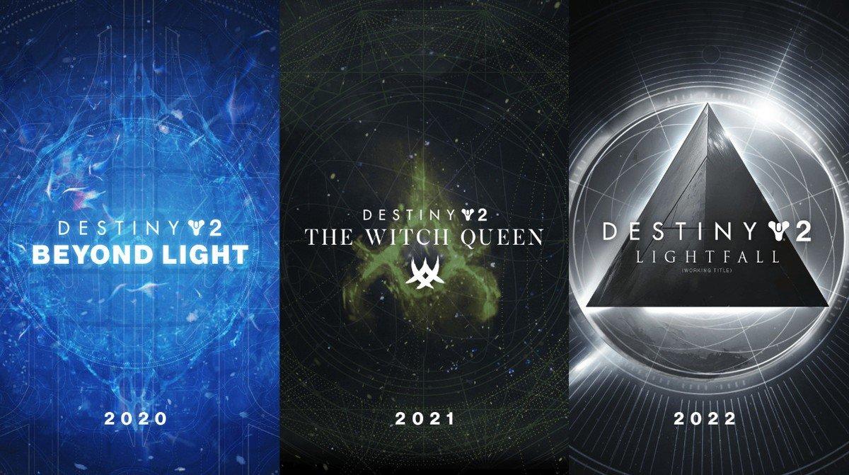 Destiny 2 expanzie 2020-2022
