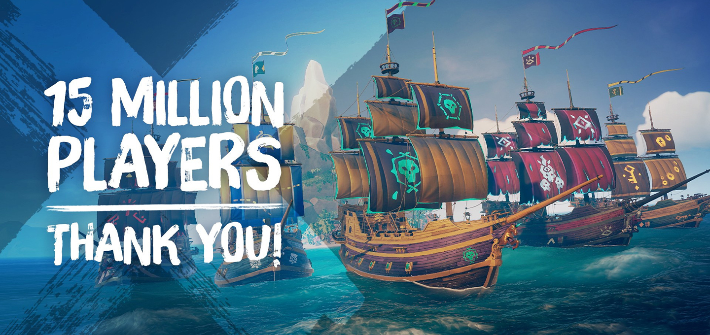Sea of Thieves 15 Million Players