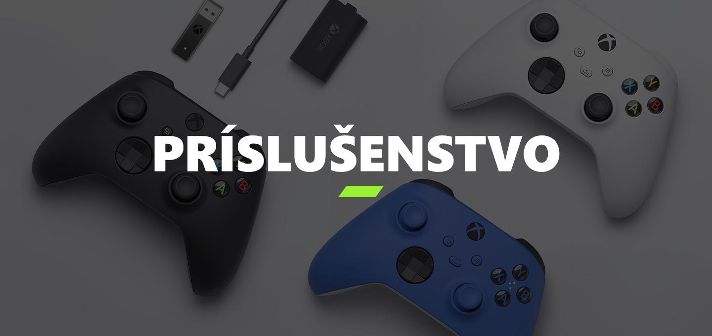 Xbox Series S Príslušenstvo