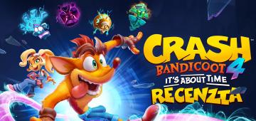 Crash Bandicoot 4 It's about time Recenzia