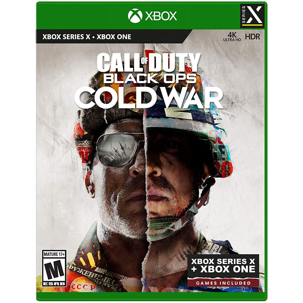 Call of Duty Black Ops Cold War Xbox Series X Cover