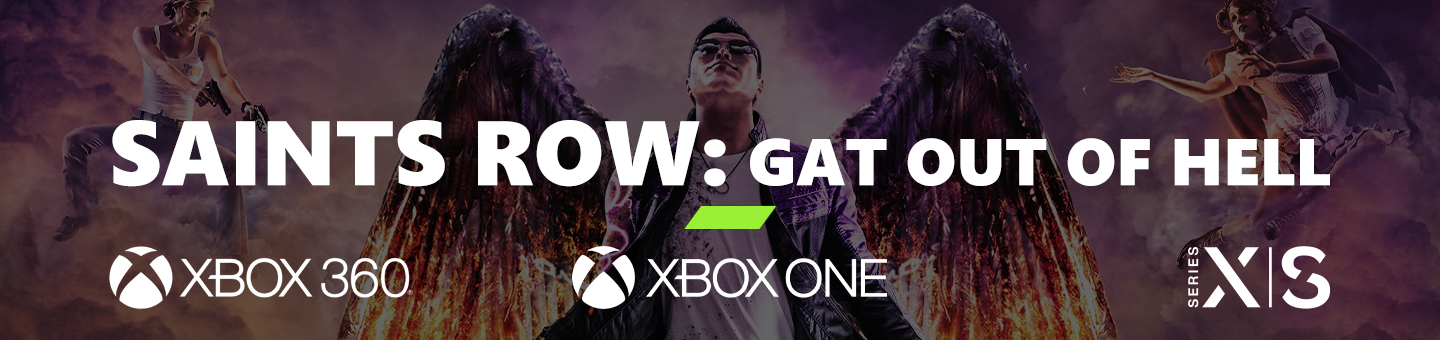 Saints Row: Gat Out of Hell Games with Gold 2020