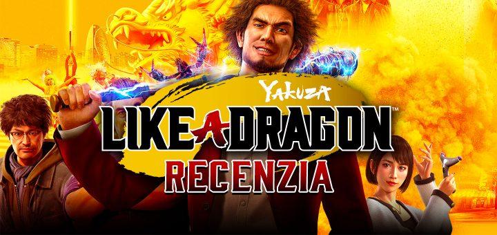 Yakuza Like a Dragon Recenzia