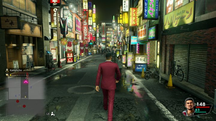 Yakuza Like a Dragon Night Street