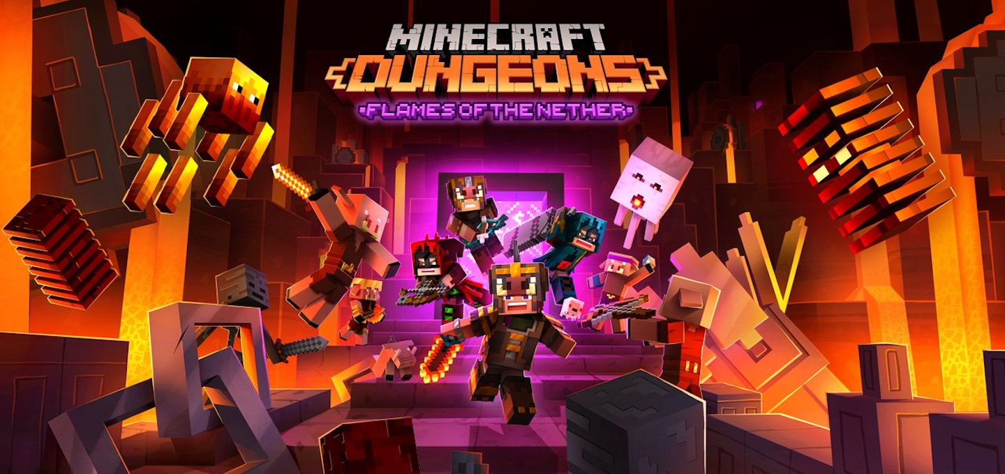 Minecraft Dungeons Flames of the Nether DLC