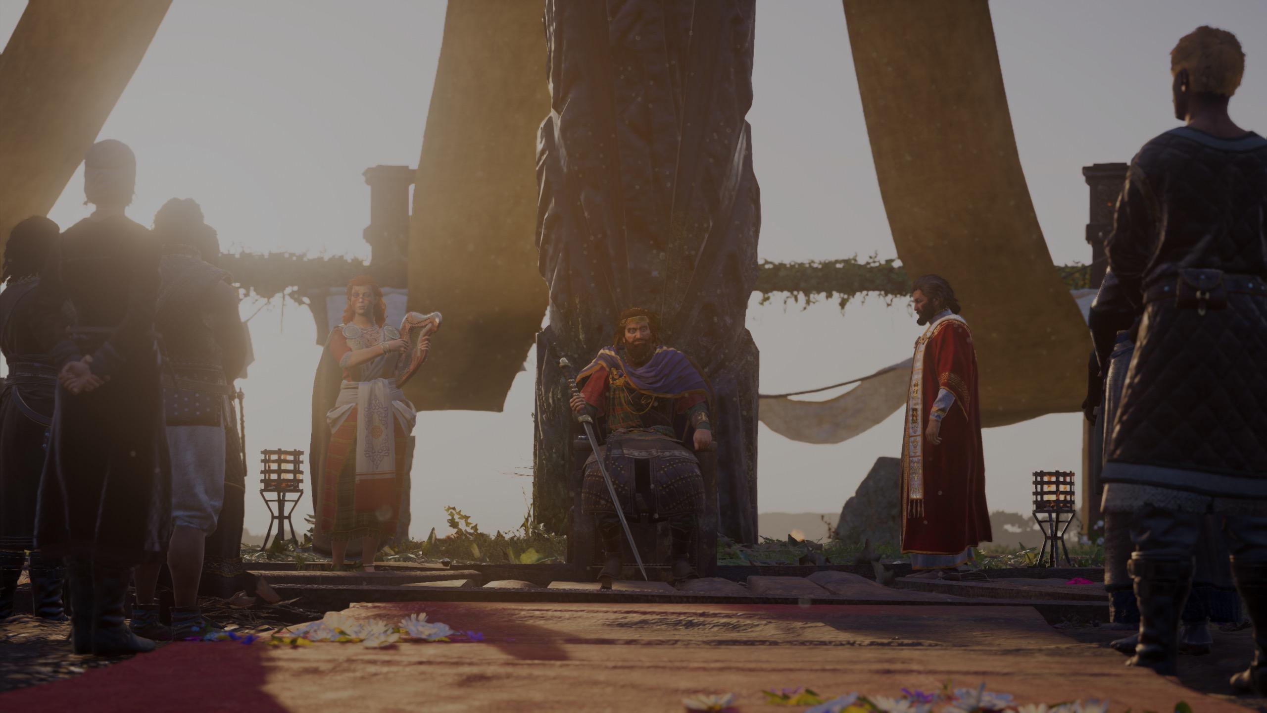 Assassin's Creed Valhalla Cutscene King Flann