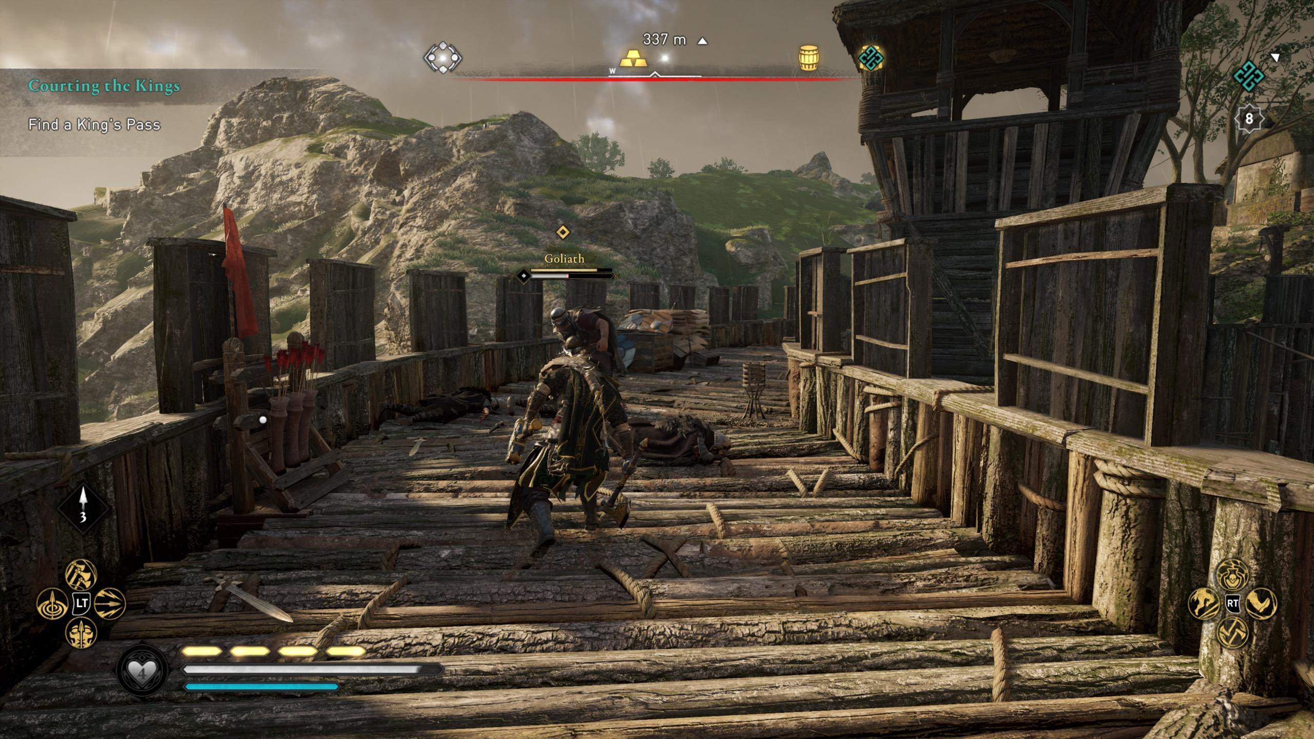 Assassin's Creed Valhalla DLC Dark Souls Vibe