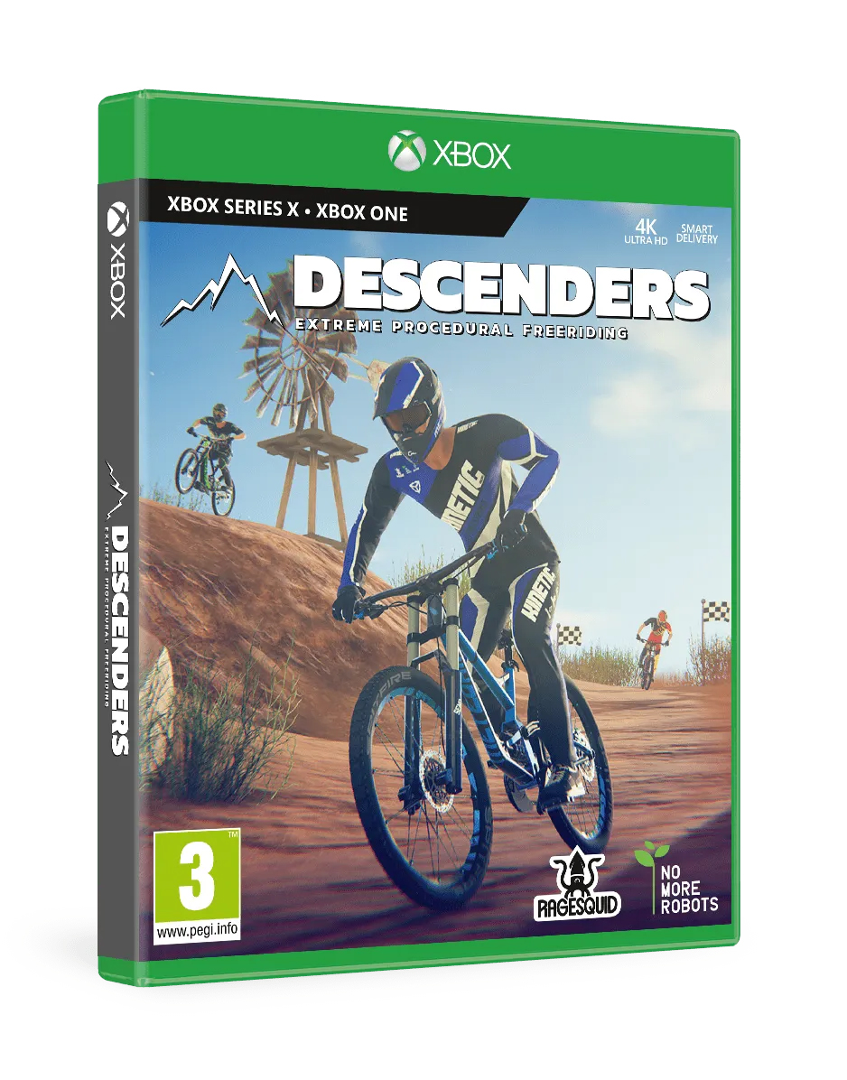 Descenders Xbox Series X Physical Copy Smart Delivery