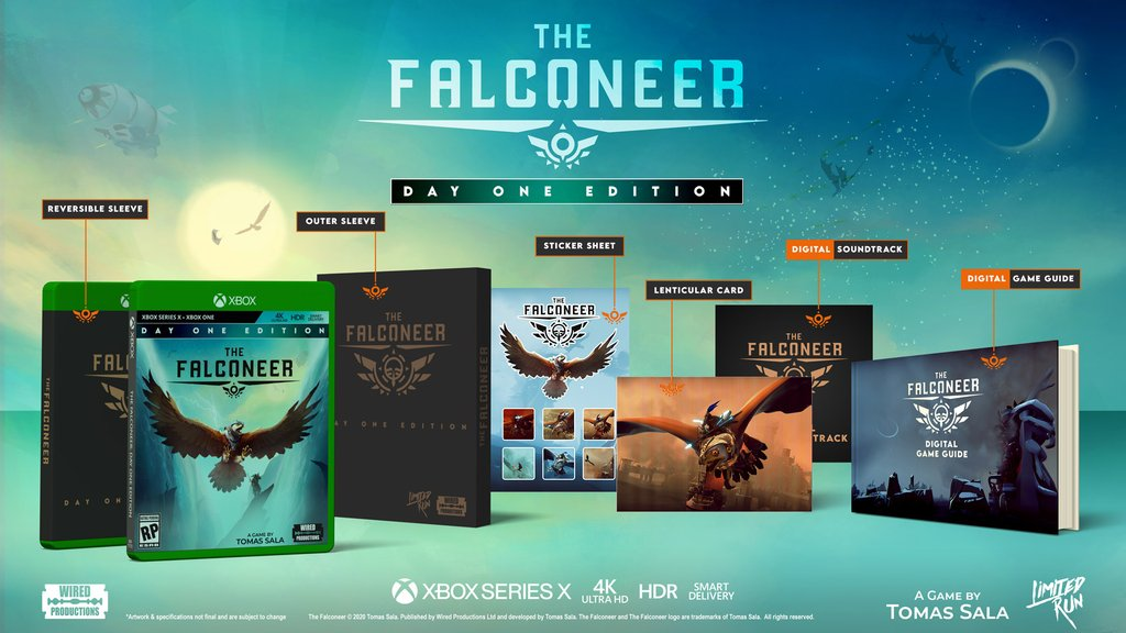 The Falconeer Day One Edition Limited Run Games
