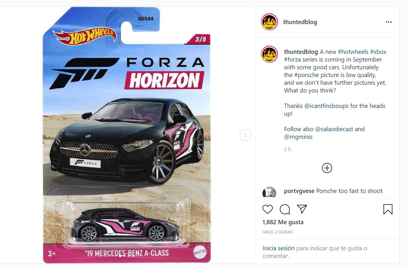 Forza Horizon Reboot 2019 Mercedes-Benz A-Class