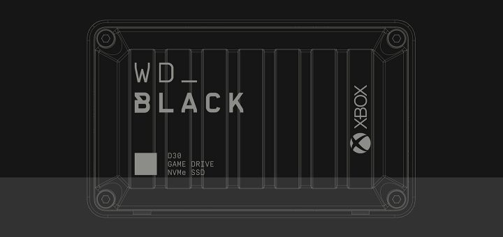 WD_Black D30 Game Drive for Xbox SSD