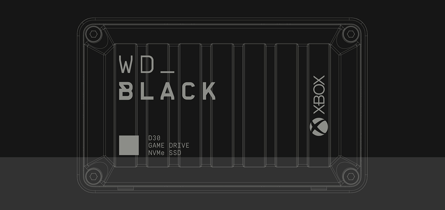 WD_Black D30 Game Drive for Xbox NVMe SSD